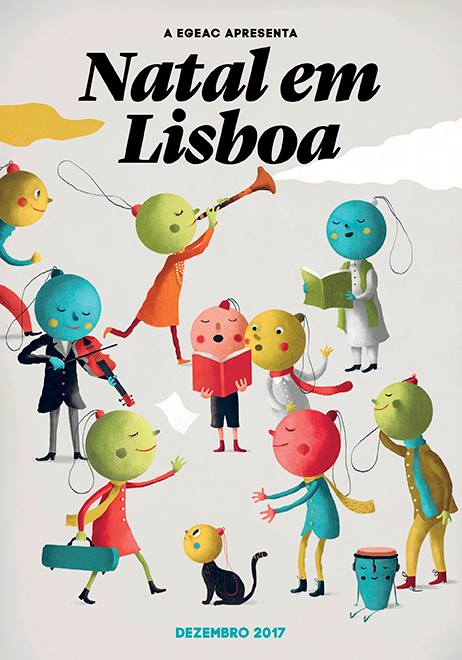 Orientre Natal em Lisboa Egeac Câmara Municipal de Lisboa Dezembro 2017