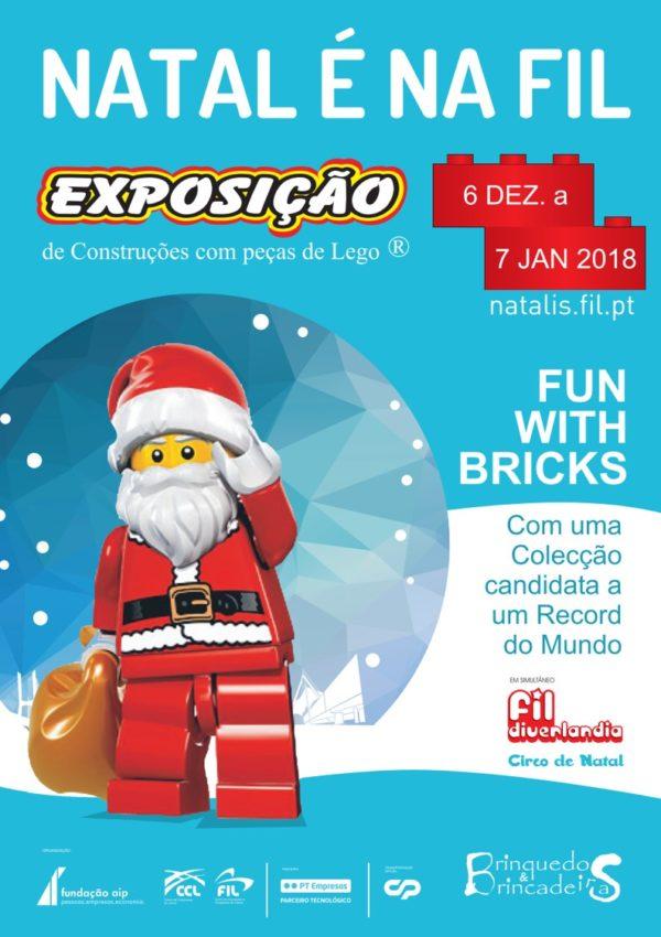 Orientre Natal FIL Lisboa Parque das Nações LEGO