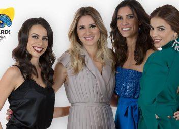 Quatro mulheres apresentam Festival Eurovisão da Canção