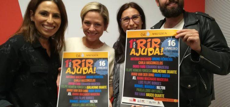 Rir Ajuda! Stand Up Comedy Solidário no Altice Arena