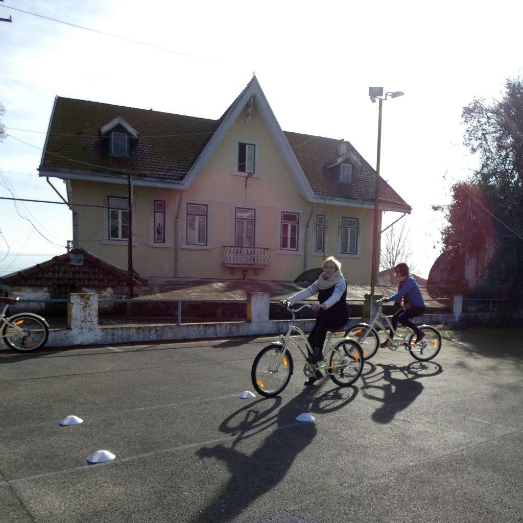 Cenas a Pedal Escola de Bicicletas