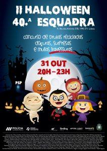 Halloween na Esquadra da PSP do Parque das Nações